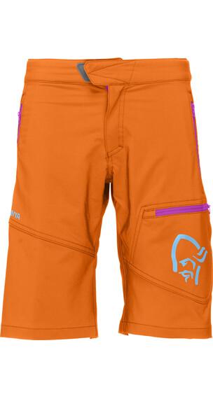 Norrøna Junior /29 Flex1 Shorts Pure Orange
